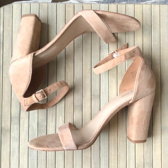 """Beige ALDO 4"""" heels size 8.5"""
